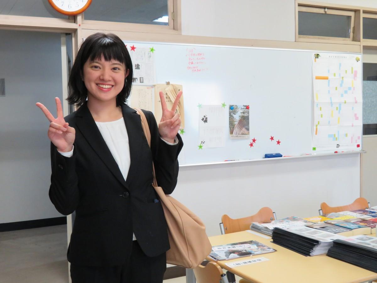 愛媛で先生!嬉しいです。