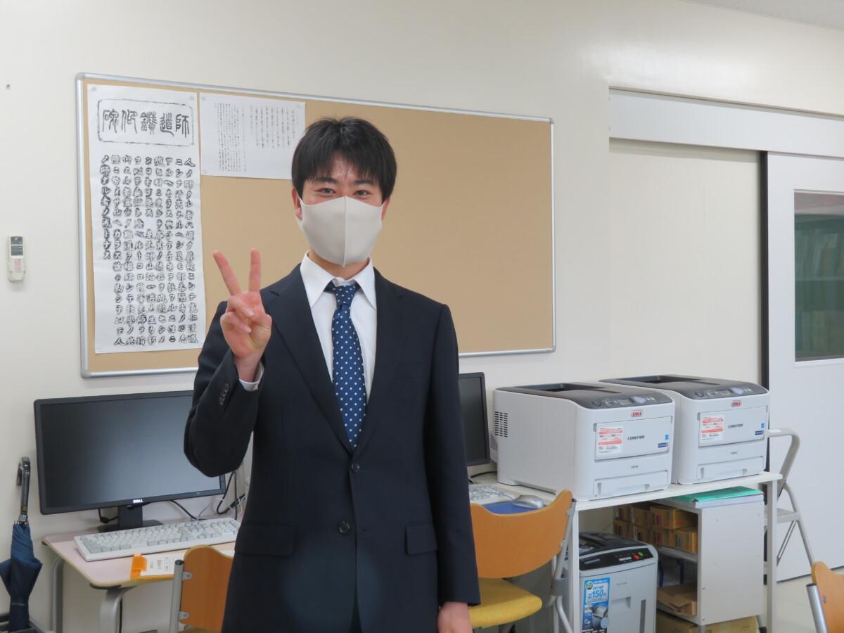 卒業おめでとう。最後までありがとう。
