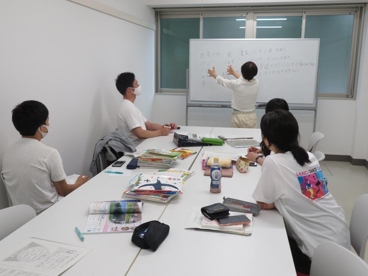 模擬授業の風景