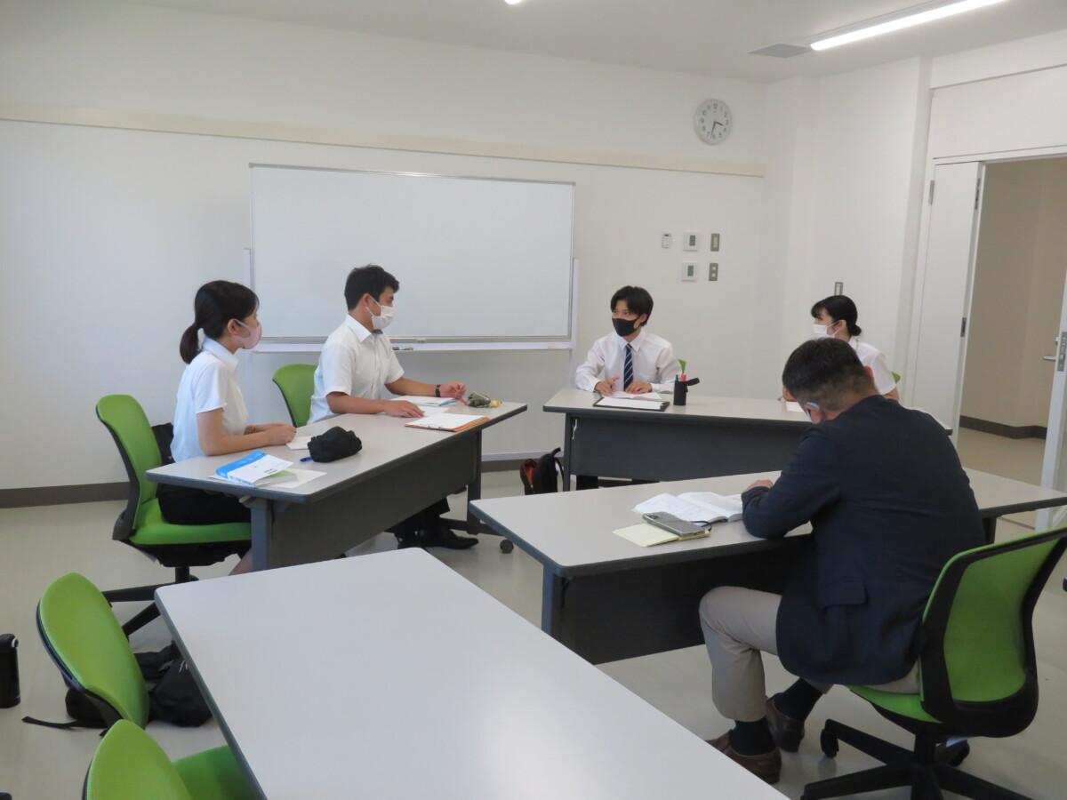 集団討論の練習